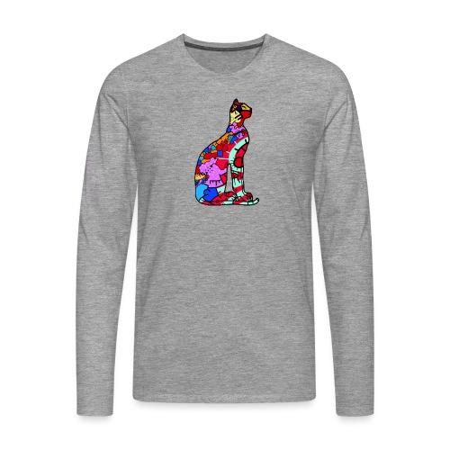 Serenicat - Men's Premium Longsleeve Shirt