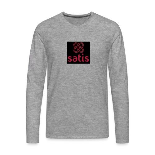 Satis - T-shirt manches longues Premium Homme