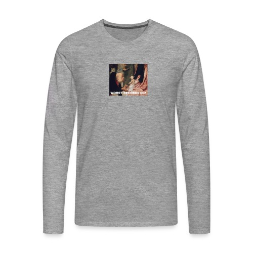 Worst Records 002 - Men's Premium Longsleeve Shirt