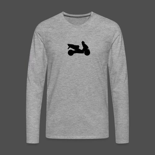 Roller 9RO11 - Koszulka męska Premium z długim rękawem