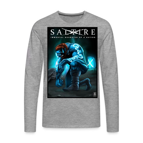 Saltire Invasion1 - Men's Premium Longsleeve Shirt