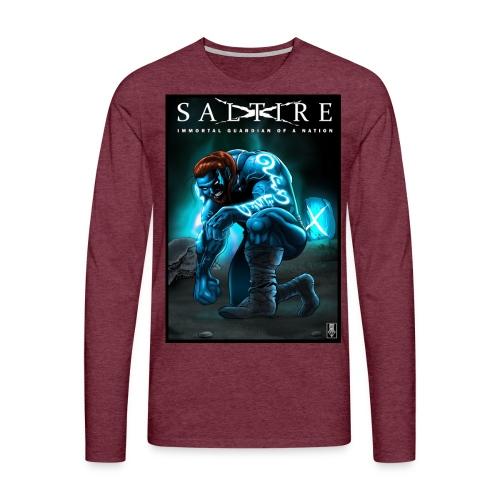 Saltire Invasion1 - Men's Premium Longsleeve Shirt