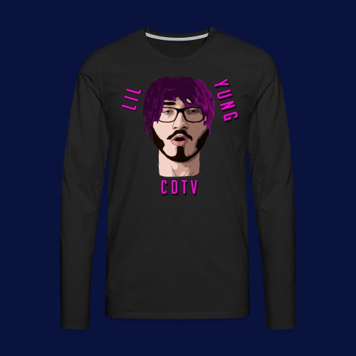 LIL YUNG CDTV - Men's Premium Longsleeve Shirt