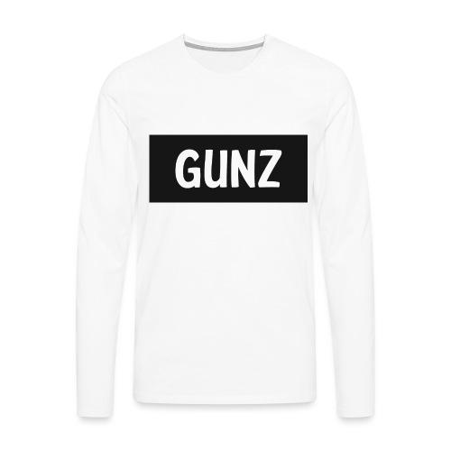 Gunz - Herre premium T-shirt med lange ærmer