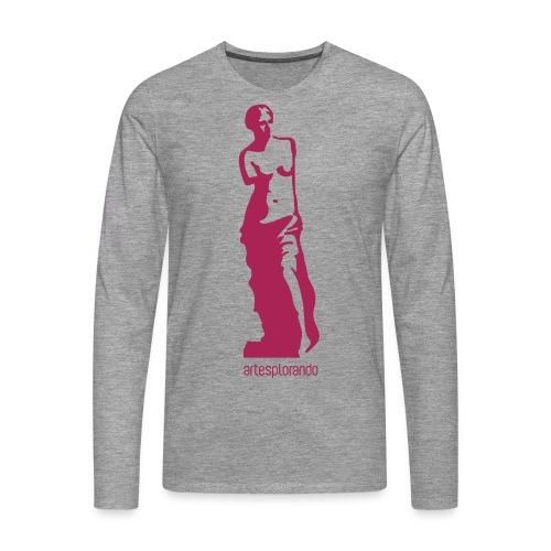 Venere di Milo - Maglietta Premium a manica lunga da uomo