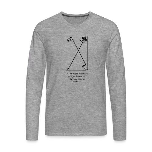 strumenti creativi - Maglietta Premium a manica lunga da uomo