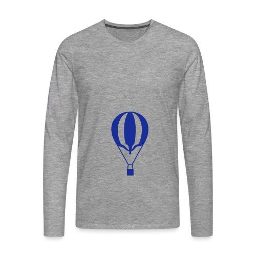Gasballon unprall - Männer Premium Langarmshirt