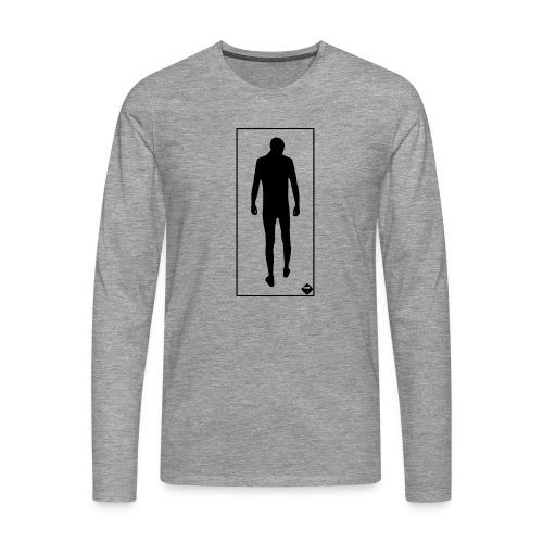 Man In Mirror - Långärmad premium-T-shirt herr
