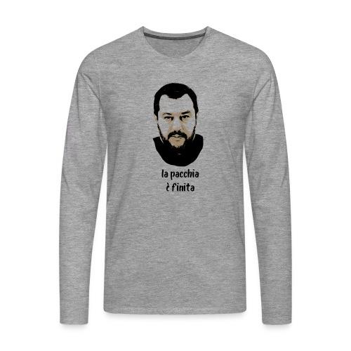 Salvini - Maglietta Premium a manica lunga da uomo