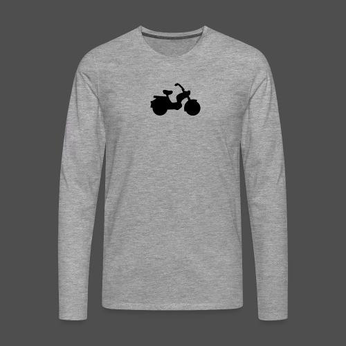 Mofa 9MO11 - Koszulka męska Premium z długim rękawem