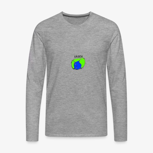 aiga cashier - Herre premium T-shirt med lange ærmer