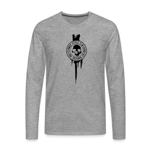 patch stroke pfade - Männer Premium Langarmshirt