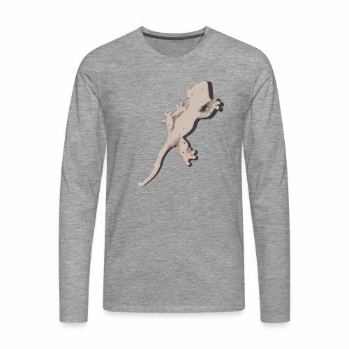 Crested Gecko - Männer Premium Langarmshirt