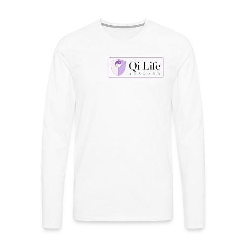 Qi Life Academy Promo Gear - Men's Premium Longsleeve Shirt