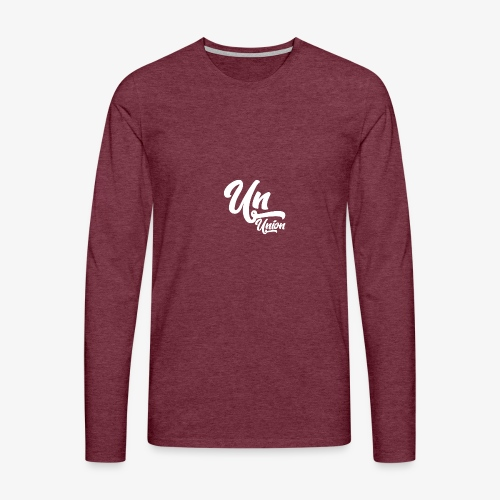 Union Blanc - T-shirt manches longues Premium Homme