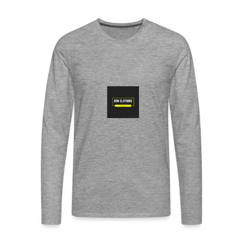 Don kläder - Långärmad premium-T-shirt herr