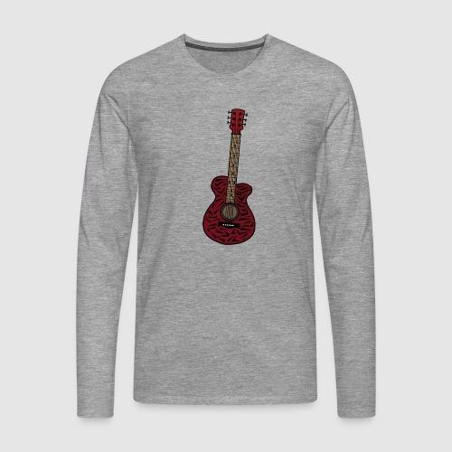 Gitarre - Männer Premium Langarmshirt