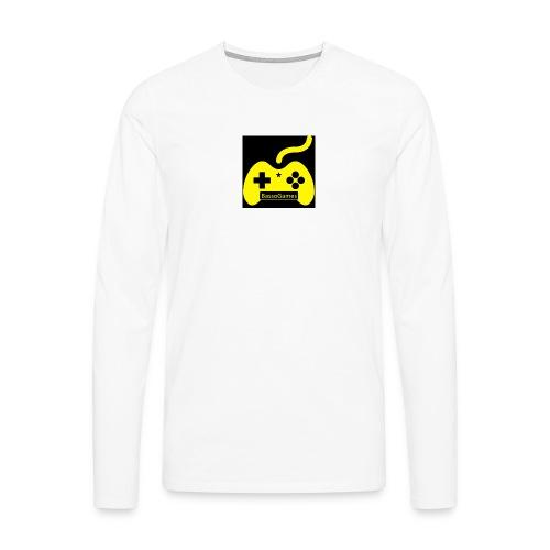 BassoGames Logi - Men's Premium Longsleeve Shirt