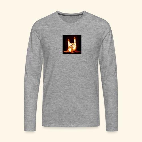 fingers bomb - T-shirt manches longues Premium Homme