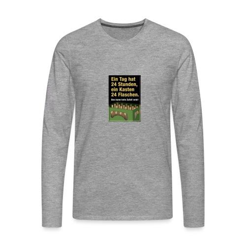Bauern Sprüche - Männer Premium Langarmshirt