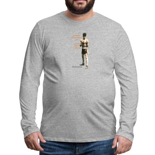 Fight Antigypsyism Johann Rukeli Trollmann - Men's Premium Longsleeve Shirt
