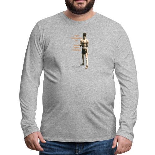 Fight Antiziganism like Johann Rukeli Trollmann - Men's Premium Longsleeve Shirt