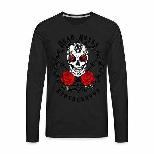 Dead Roses 2nd Logo - Men's Premium Longsleeve Shirt