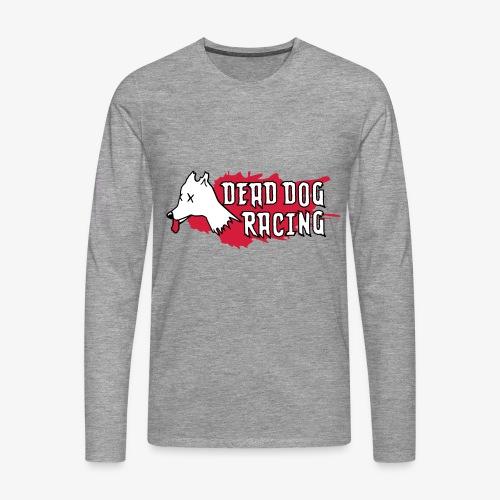 Dead dog racing logo - Men's Premium Longsleeve Shirt