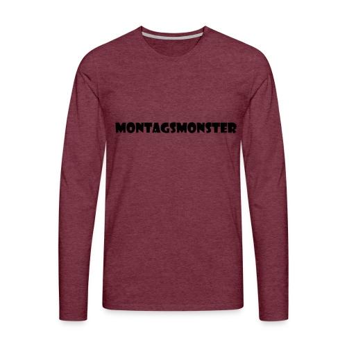 Montagsmonster - Männer Premium Langarmshirt