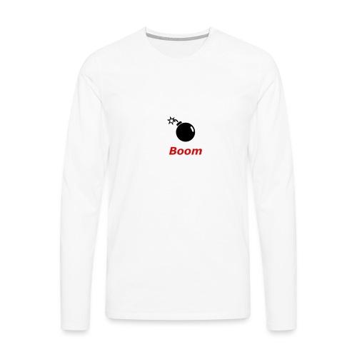 Bomba - Koszulka męska Premium z długim rękawem