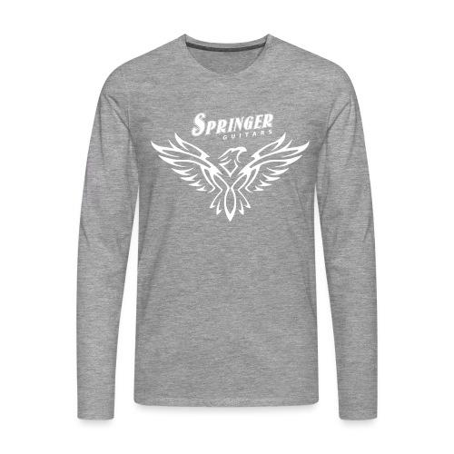 Springer FireHawk white - T-shirt manches longues Premium Homme