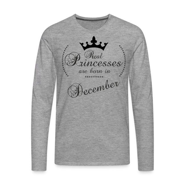 Real Princesses black December