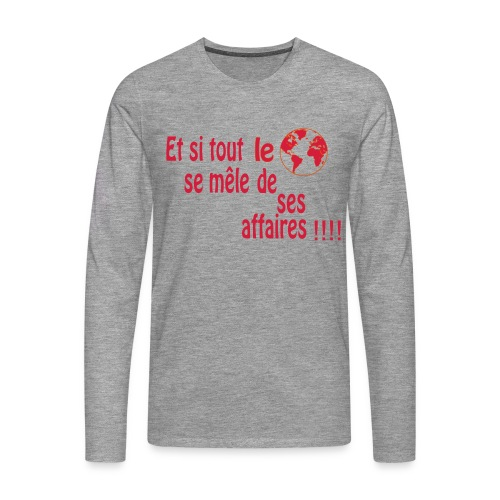 BNT création - T-shirt manches longues Premium Homme