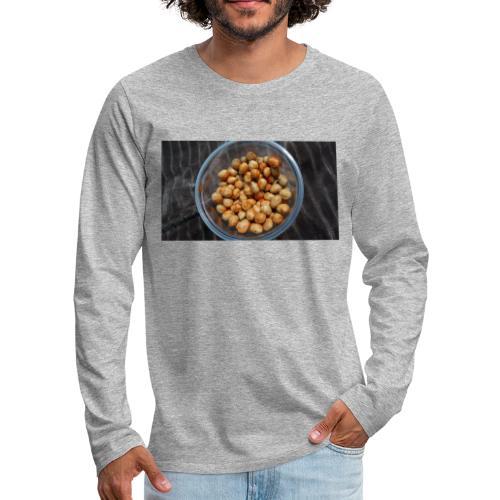 Cacahuate - Camiseta de manga larga premium hombre