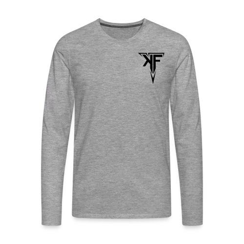 KraftFabrik Classic Design - Männer Premium Langarmshirt