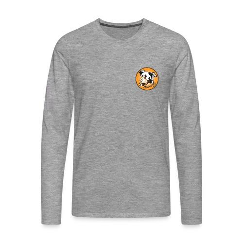 maulkorb-aktion-button-hq - Männer Premium Langarmshirt