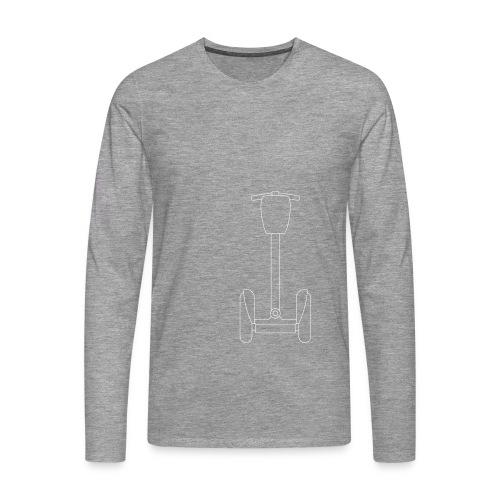 Segway i2 mit Tasche - Männer Premium Langarmshirt