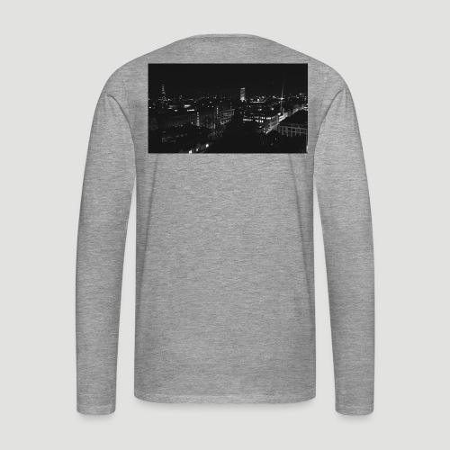 Londres night city - Camiseta de manga larga premium hombre
