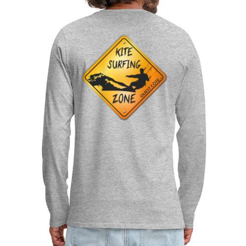 KITESURFING ZONE OUEST CÔTE - T-shirt manches longues Premium Homme