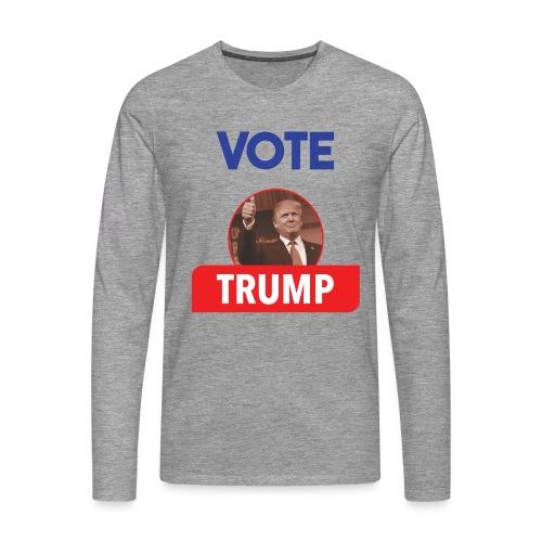 Vote Trump - T-shirt manches longues Premium Homme
