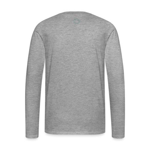 Logo Stamp - Men's Premium Longsleeve Shirt