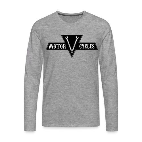 VMS LOGO png - T-shirt manches longues Premium Homme