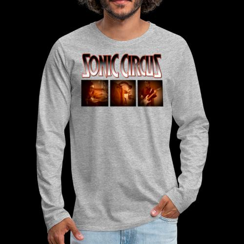 SC Shirt Front png - Männer Premium Langarmshirt