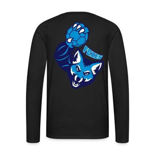Foxes handball - T-shirt manches longues Premium Homme