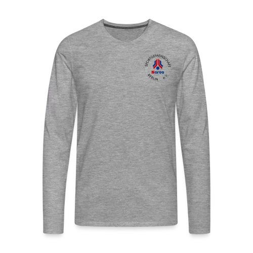 NARVA Logo komplett transparent png - Männer Premium Langarmshirt