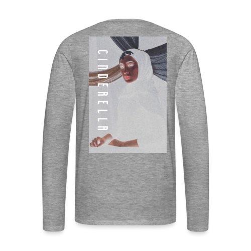 cinderella - Herre premium T-shirt med lange ærmer