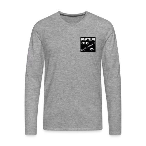 LOGO SQUARE BIG png - T-shirt manches longues Premium Homme