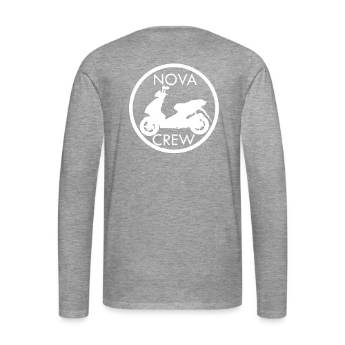 Nova Crew - Männer Premium Langarmshirt