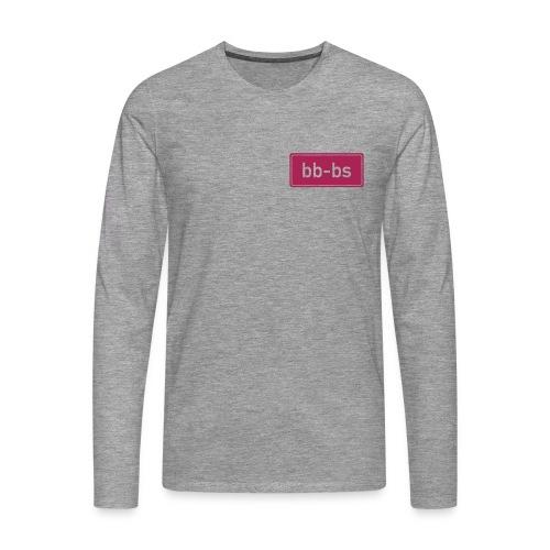 logo bbbs gross - Männer Premium Langarmshirt