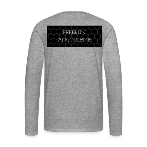 FREERUN MIEL :) - T-shirt manches longues Premium Homme